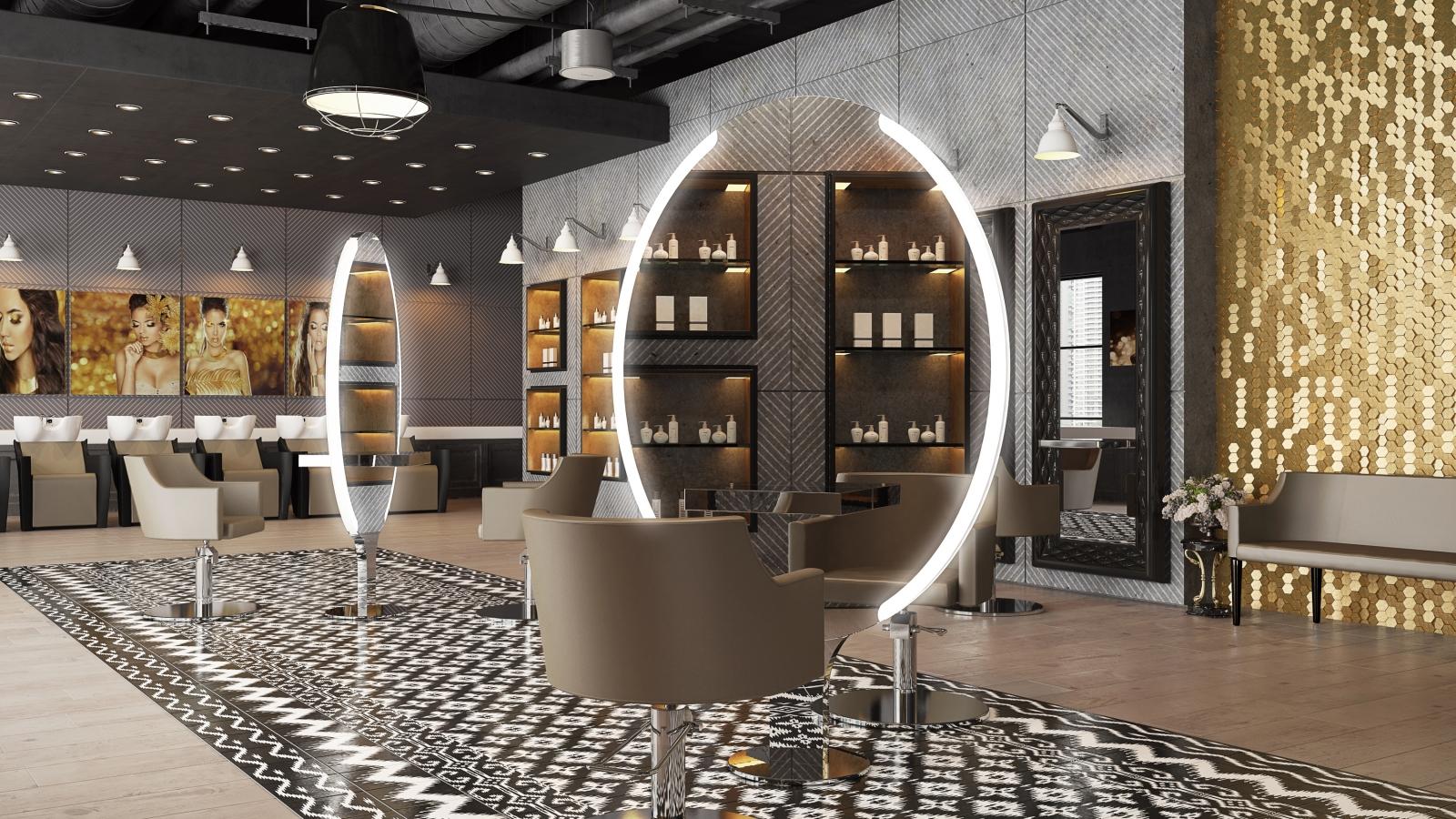Besco arredamenti arredamento per parrucchieri ed estetica for Arredamento per parrucchieri